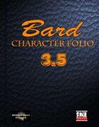 Bard Character Portfolio 3.5