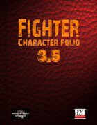 Fighter Character Portfolio 3.5