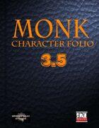 Monk Character Portfolio 3.5