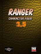 Ranger Character Portfolio 3.5