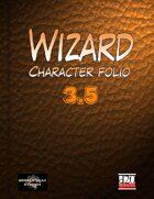 Wizard Character Portfolio 3.5