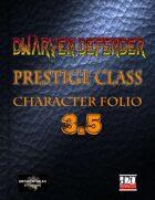 Dwarven Defender 3.5
