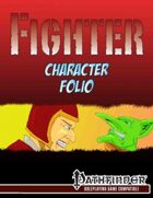Fighter character folio
