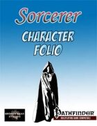 Sorcerer Class Character Folio