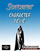 Sorcerer Class Character Folio