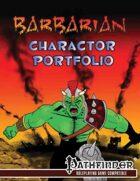 Barbarian Character Portfolio
