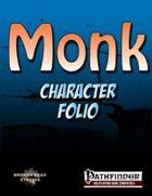 Monk Character Folio