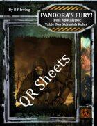 Pandora's Fury! QR Sheets