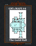 GM's Maps #4: Guild Hall