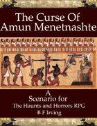 The Curse of Amun Menetnashte