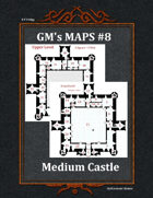 GM's Maps #8: Medium Castle