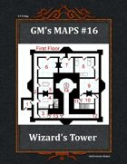 GM's Maps #16: Wizards Tower