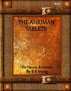 The Ahriman Tablets