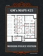 GM's Maps #25: Modern Police Station