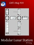GM's Maps #29: Modular Lunar Station