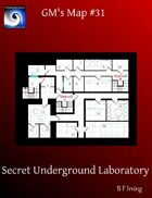 GM's Maps #31: Secret Underground Laboratory