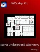GM's Maps #31: Secret Underground Laboratory