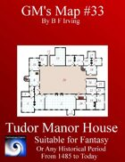 GM's Map 33 Tudor Manor House