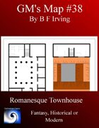 GM's Maps #38: Romanesque Town House