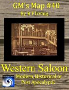 GM's Maps #40: Western Saloon