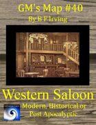 GM's Maps #40: Western Saloon