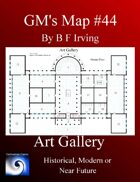 GM's Maps #44: Art Gallery