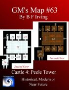 GM's Map #64: Castlle 4 The Peele Tower
