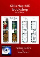 GM's Map #85:  Bookshop