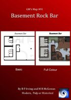 GM's Maps #91:Basement Bar