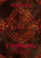 Haunts and Horrors 2nd Edition