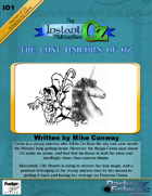 Heroes of Oz: The Lost Unicorn of Oz, an adventure for Instant Oz