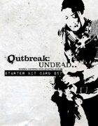 Outbreak: Undead.. Starter Kit Card Set