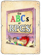 ABCs of RPGs Children's Book