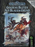 Goldene Blüten auf blauem Grund (PDF) als Download kaufen