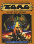 Torg: Kanawa Heavy Weapons