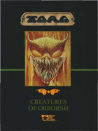 Torg: Creatures of Orrorsh