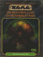 Torg: The High Lords' Guide to the Possibility Wars