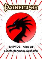 Drittanbieter – MyPFDB: Alles zu Ritterorden/Samuraikasten (PDF) als Download