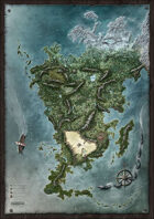 The Dark Eye - Aventuria Map
