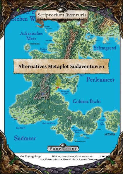 Dsa Karte.Dsa 5 Alternatives Metaplot Sudaventurien Das Schicksal