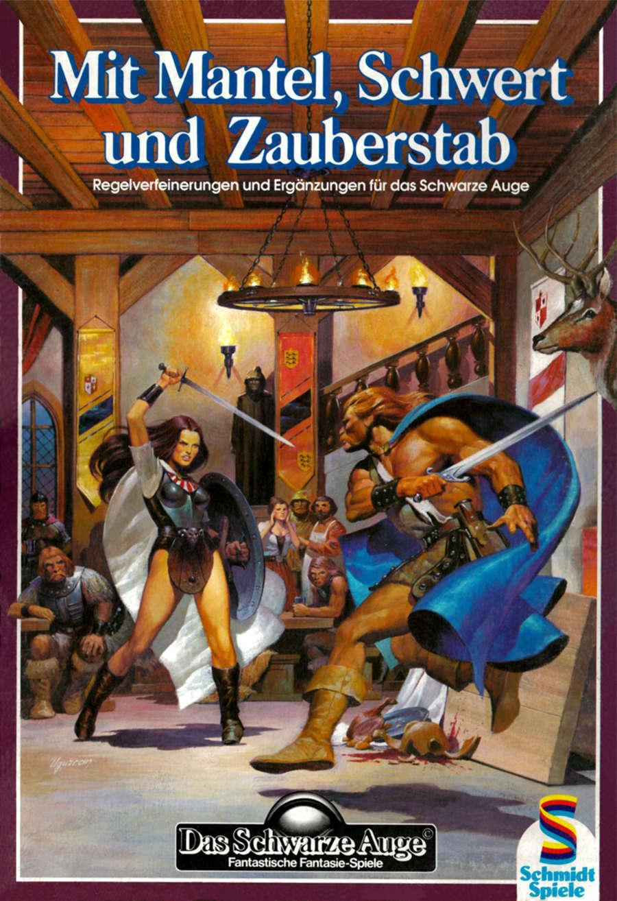 DSA 3 Mit Mantel, Schwert und Zauberstab (PDF) als Download kaufen