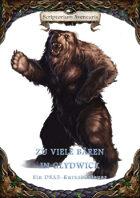DSA5-Kurzabenteuer - Zu viele Bären in Glydwick