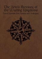 Hero's Breviary of the Warring Kingdoms