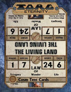 Torg Eternity - Cosm Table Tents (Kickstarter only)