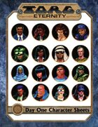 Torg Eternity - Day One Characters (Kickstarter Only)