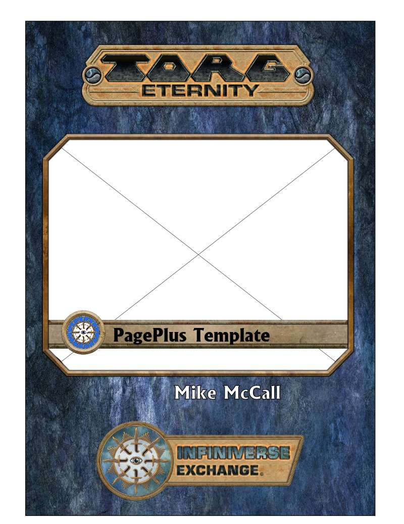 Torg Infiniverse Exchange Template for PagePlus - Ulisses Spiele ...