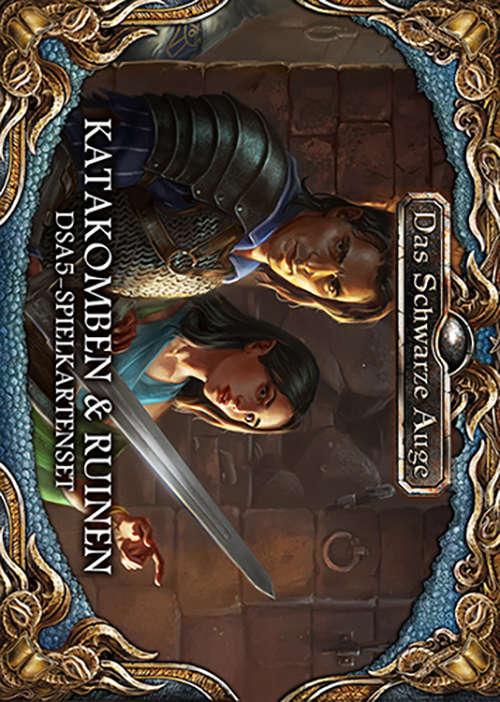 DSA5 - Spielkartenset - Katakomben & Ruinen