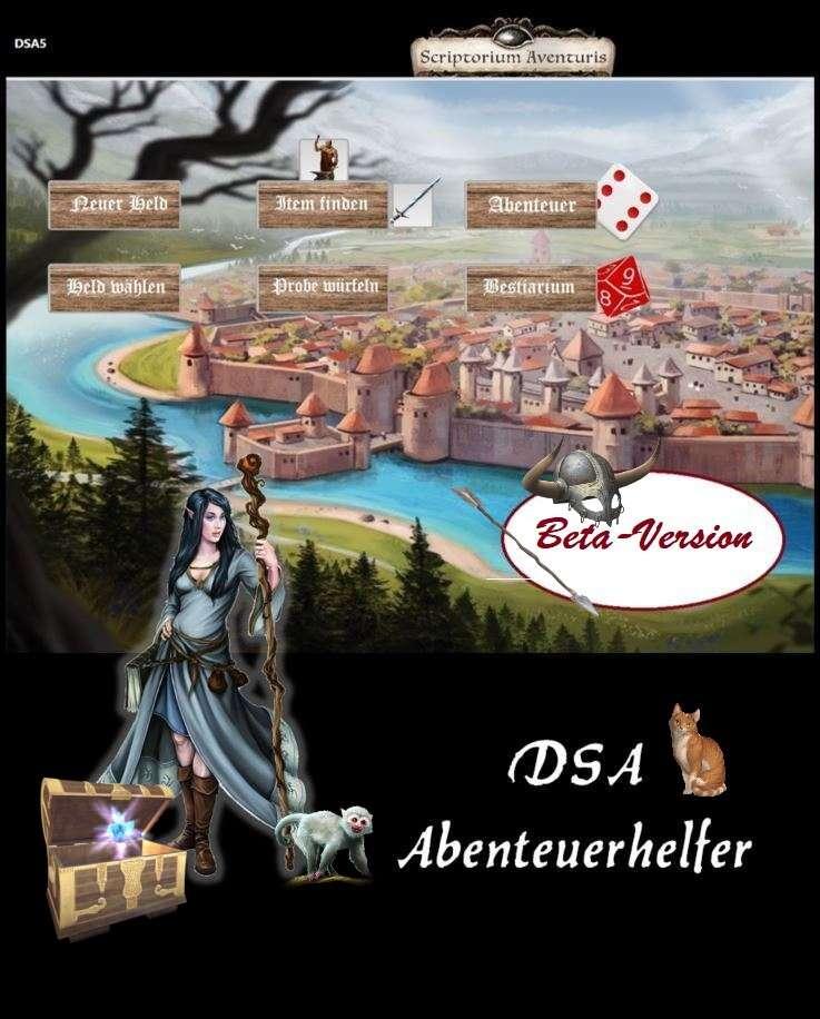 DSA 5 Abenteuerhelfer