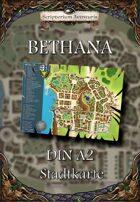 Stadtkarte von Bethana