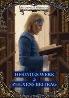 Hesindes Werk & Phexens Beitrag